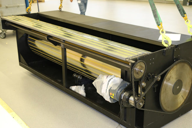 caisson intégré protection de fosse