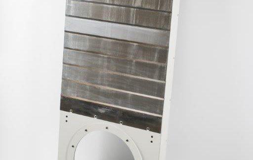 Soufflet métallique protection centre usinage vertical