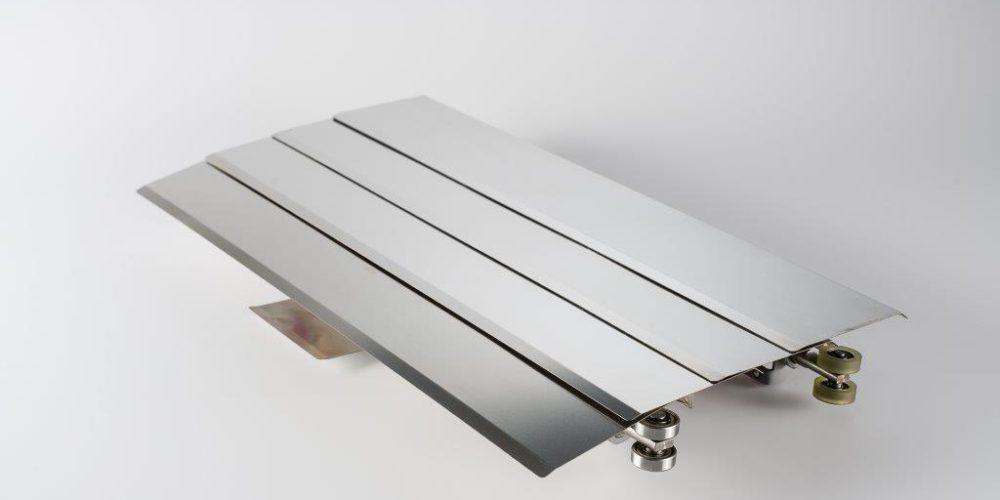 Soufflet métallique machine outil