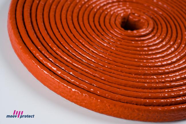 gaine isolante tressee protection cables haute temperature industrie